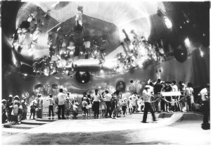 Mirror Dome Room at the Pepsi Pavilion, at Expo '70, Osaka Japan, Photo Shunk-Kender
