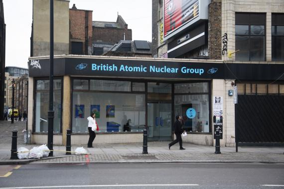 The British Atomic Nuclear Group installed at The Royal Society of Arts