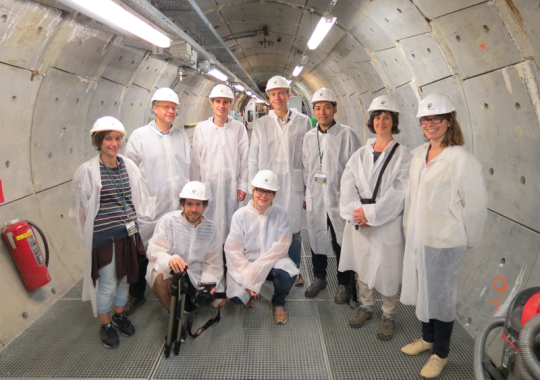 Nuclear Culture Field Research visit to HADES, Belgium, 2016