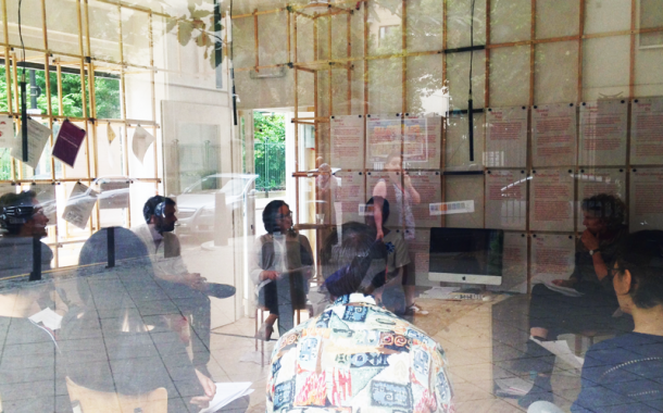 A Public Hearing, How to Speak, window view, 2016