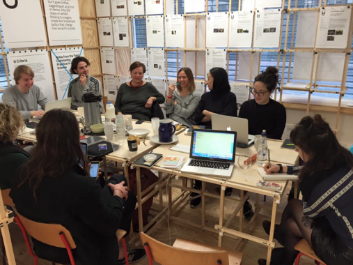 MA Students from Centre for Research Architecture at Goldsmiths College, University of London, 2016