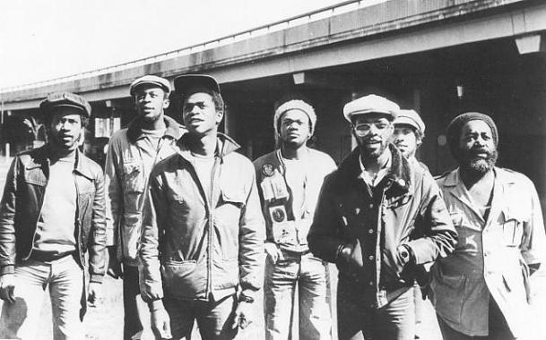 Photograph of Steel Pulse in 1978